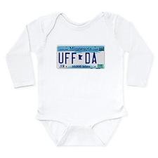 "Minnesota ""Uffda"" Long Sleeve Infant Bodysuit"
