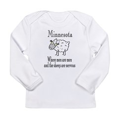 Minnesota Sheep Long Sleeve Infant T-Shirt