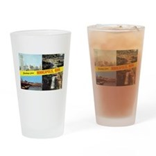 Cute Mississippi river Drinking Glass