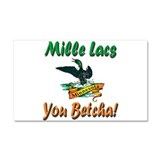 Mille Lacs You Betcha Car Magnet 20 x 12
