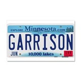 Garrison License Plate Car Magnet 20 x 12