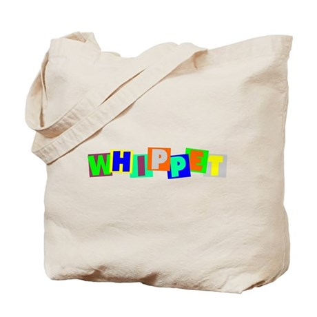 Whippet BLOCKS Tote Bag
