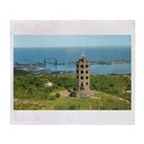1960's Enger Tower Throw Blanket