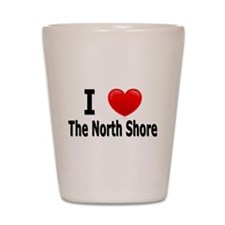 "I Love ""Up North"" Minnesota Shot Glass"