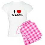 I Love &quot;Up North&quot; Minnesota Women's Ligh