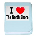 I Love &quot;Up North&quot; Minnesota baby blanket
