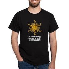 Winning Team Black T-Shirt