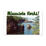 Minnesota Rocks! 22x14 Wall Peel