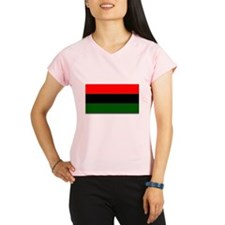 Red Black and Green Flag Performance Dry T-Shirt