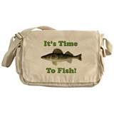 It's Time to Fish Messenger Bag