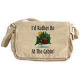 At The Cabin Messenger Bag