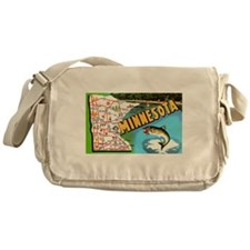 Cute Minnesota Messenger Bag