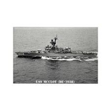 USS McCLOY Rectangle Magnet