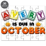 Avery is Due in October Puzzle