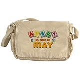 Avery is Due in May Messenger Bag