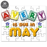 Avery is Due in May Puzzle