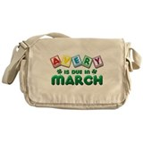 Avery is Due in March Messenger Bag