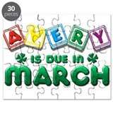 Avery is Due in March Puzzle