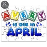 Avery is Due in April Puzzle