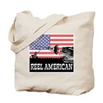 Reel American Fishing Tote Bag