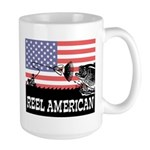 Reel American Fishing Large Mug