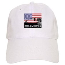 Reel American Fishing Baseball Cap