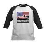 Reel American Fishing Kids Baseball Jersey