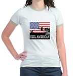 Reel American Fishing Jr. Ringer T-Shirt