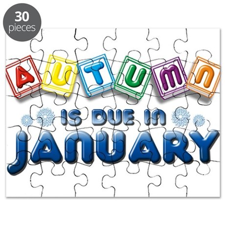 Autumn is Due in January Puzzle