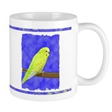 Male Yellow Budgie Mug