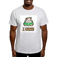 I Quit Smoking Ash Grey T-Shirt