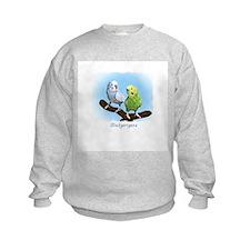 Budgie Pair Sweatshirt