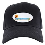Martha's Vineyard MA - Beach Design. Baseball Hat