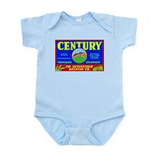 Colorado Beer Label 3 Infant Bodysuit