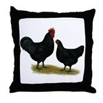 Jersey Black Giants Throw Pillow