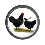 Jersey Black Giants Wall Clock