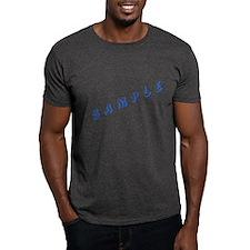 A Sample Black T-Shirt