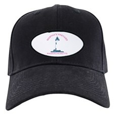 Martha's Vineyard MA - Lighthouse Design. Baseball Hat