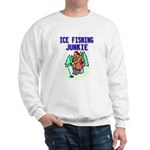 Ice Fishing Junkie Sweatshirt