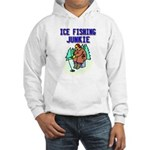 Ice Fishing Junkie Hooded Sweatshirt