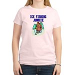 Ice Fishing Junkie Women's Light T-Shirt