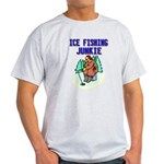 Ice Fishing Junkie Light T-Shirt