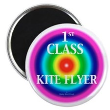"Kite Flyer 2.25"" Magnet (10 pack)"