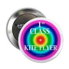 "Kite Flyer 2.25"" Button"