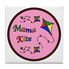 Mama Kite Tile Coaster