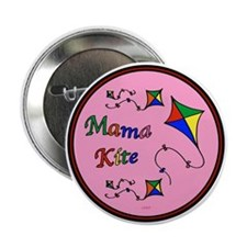 """Mama Kite 2.25"""" Button (10 pack)"""