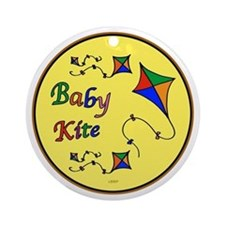 Baby Kite Ornament (Round)