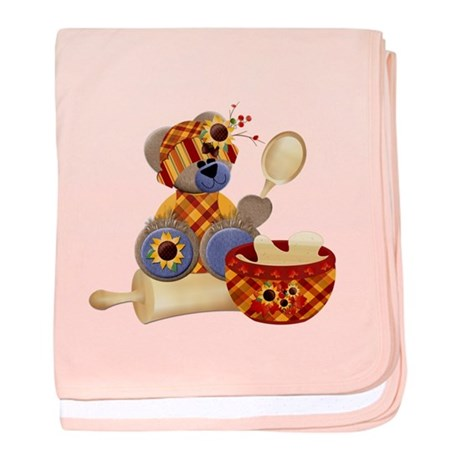 TeddyBear Chef baby blanket