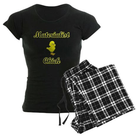 Materialist Chick Women's Dark Pajamas