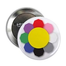 "Lucky Bagua 2.25"" Button (100 pack)"